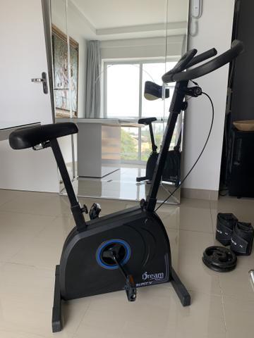 Bicicleta ergométrica - nova nf e garantia parcelo