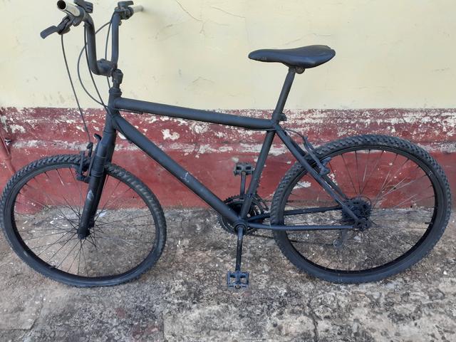 Bicicleta aro 26 18 marchas entrego