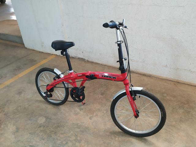 Bicicleta pró dobrável nunca rodou
