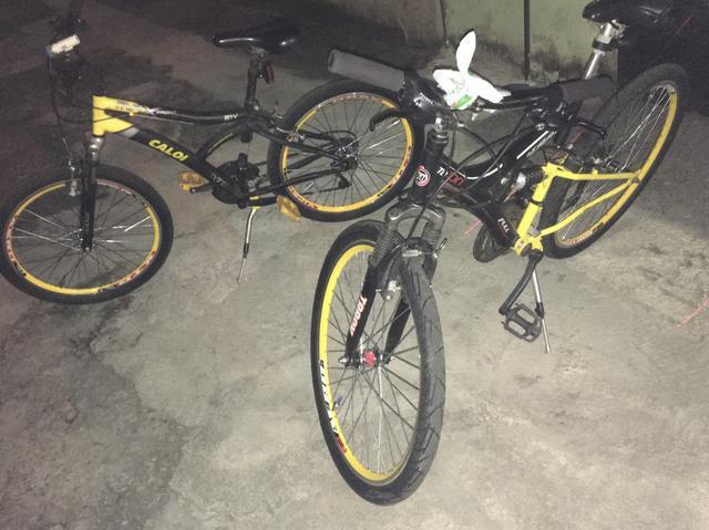 Bicicletas caloi e tracker