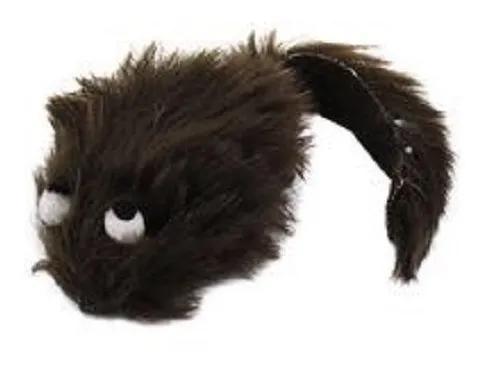 Brinquedo bichinho rato ratinho de pelúcia p/ gato = pet