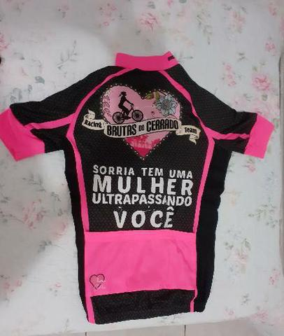 Camisa feminina para ciclismo