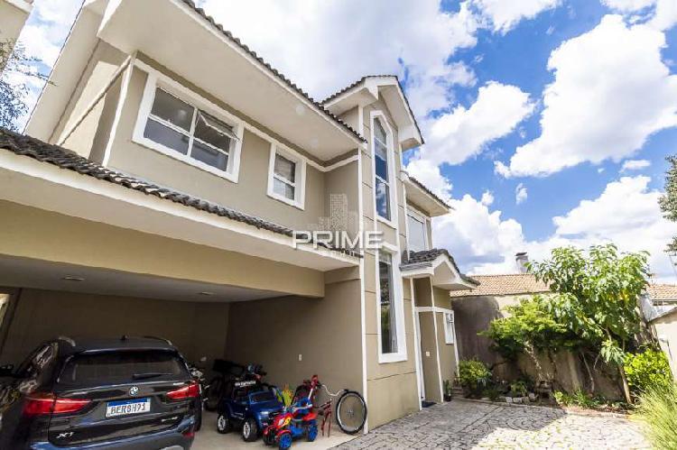 Casa em condomínio 204m² com 4 quartos - semi mobiliada