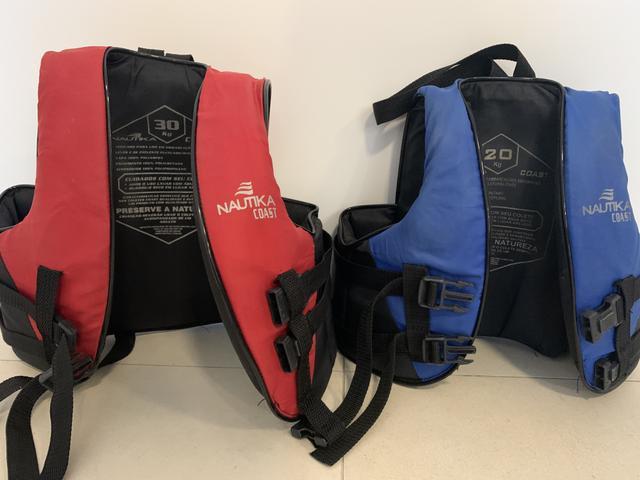 Colete salva-vidas esportivo nautika coast