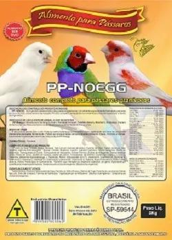 Farinhada ração pássaros pp-noegg 5 kg