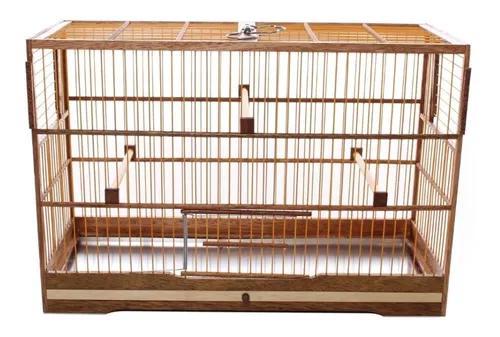 Gaiola para pássaro coleiro coleira quadrada