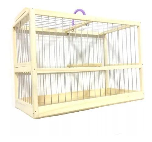 Gaiola transporte pássaro coleiro canario curio e outros