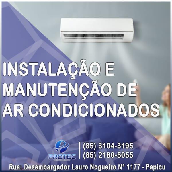 Instalação e manutenção de ar condicionados