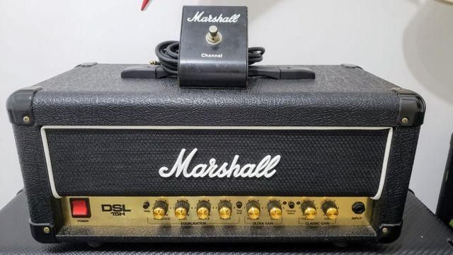 Marshall dsl15h 15/7w valvulado c/ footswitch