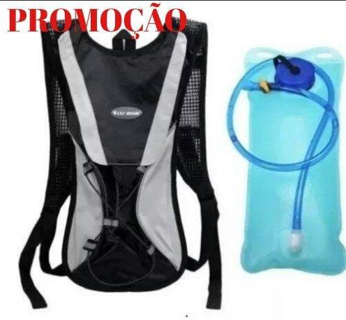 Mochila de hidratação reservatório 2 litros nova