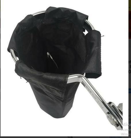 Porta baquetas nagano com clamp para estante bateria pba0001