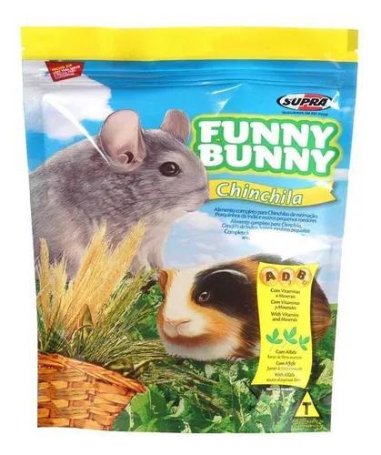 Ração funny bunny chinchila supra 700g