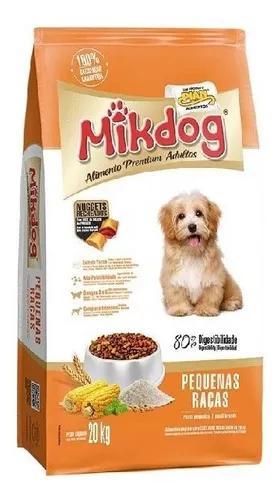 Ração mik dog raças pequenas alimento pr