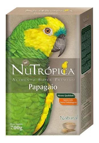 Ração nutrópica natural para papagaios - 700 g