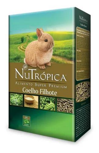 Ração nutrópica para coelho filhote 1,5kg
