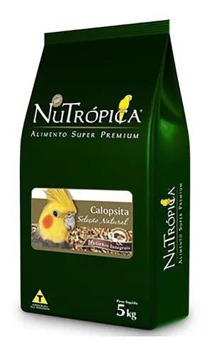 Ração nutrópica seleção natural calopsitas 5kg