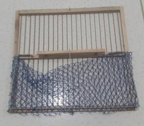 Rede batedeira para pássaros - redinha