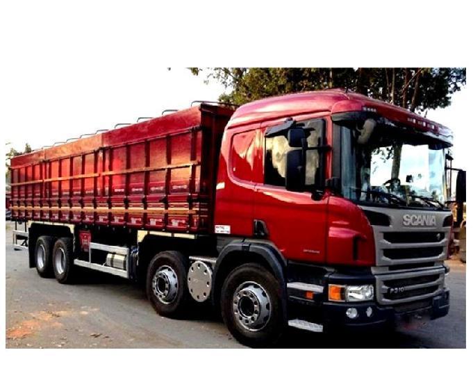 Scania p 310 8x2 bitruck leito opticruiser ano 14