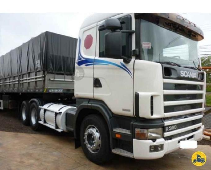 Scania r380 6x2 ccarreta ls ano 2007 (entrada e parcelas)