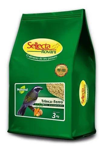 Sellecta trinca-ferro natural mini extrusado 3 kg
