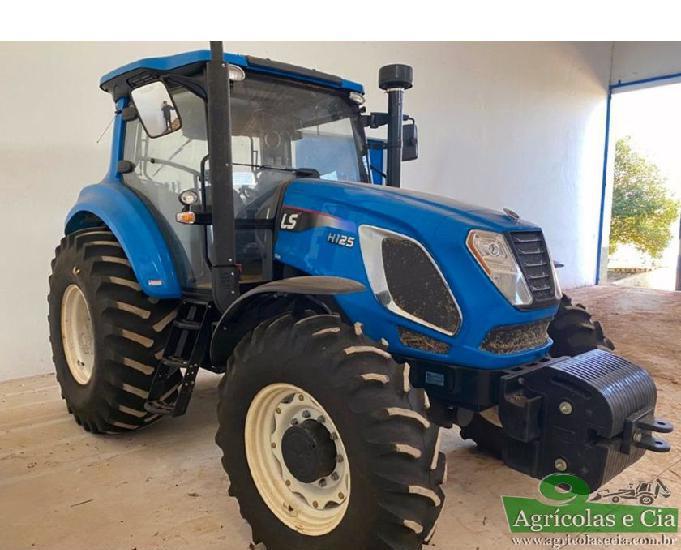 Trator ls tractor h 125 4x4 (apenas 87 horas - novo!)