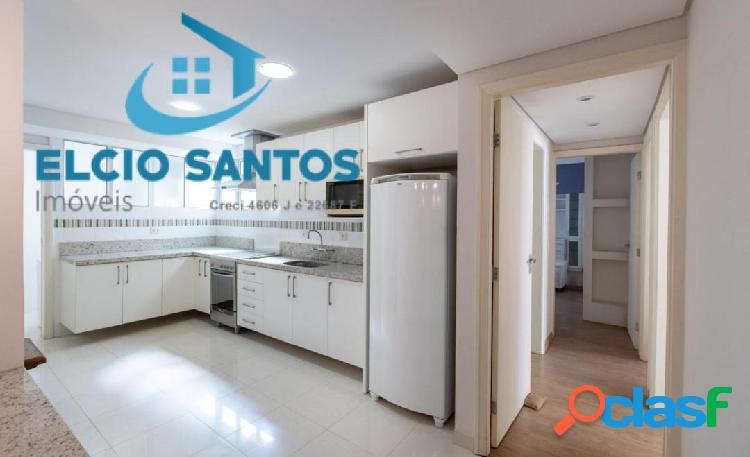 Curitiba/centro 3 dormitórios mobiliado
