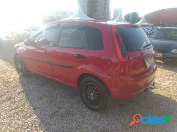 Ford fiesta 1.6 16v flex mec. 5p vermelho 2013 1.6 flex