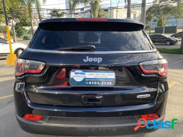Jeep compass longitude 2.0 4x2 flex 16v aut. preto 2018 2.0 flex
