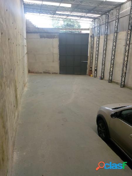 Galpão comercial para locação área total de 300 m² em itapevi