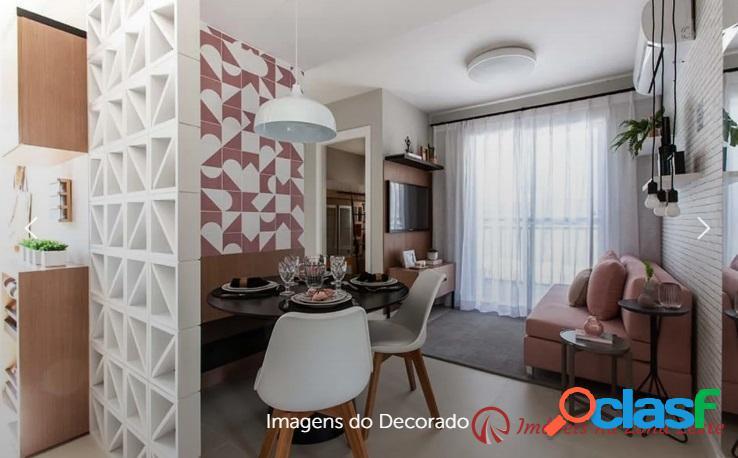 Apartamento 2 dorms, com vaga e sem sacada - jardim brasília