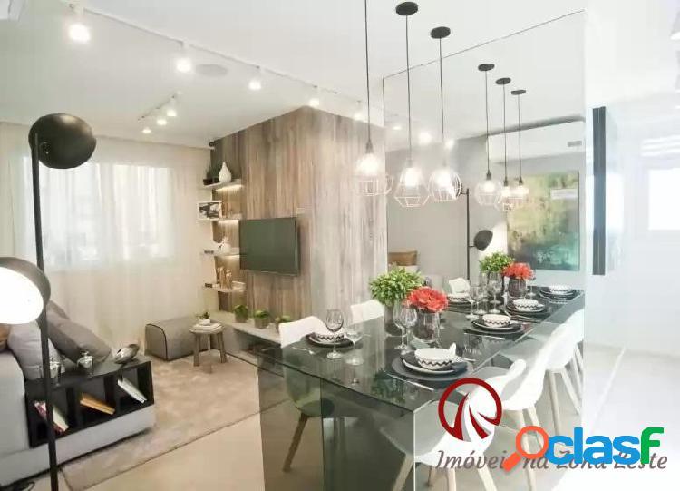 Apartamento 2 dorms, 40m², sem vaga - itaquera - fase ii