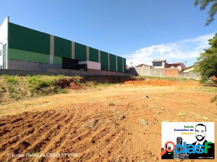 Lote industrial de 1380 m² em Itupeva