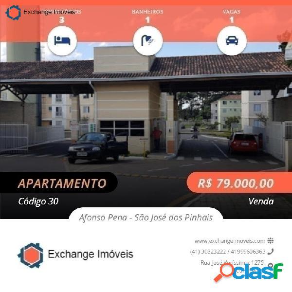Apartamento sao jose dos pinhais (finan)