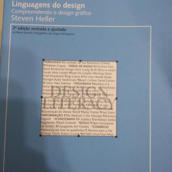 2 livros - linguagens do design e produção gráfica