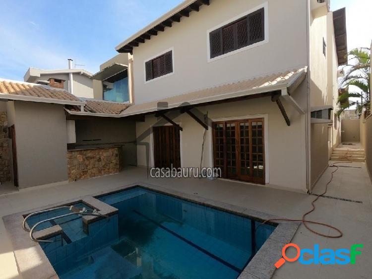 Casa aluguel condomínio villaggio bauru