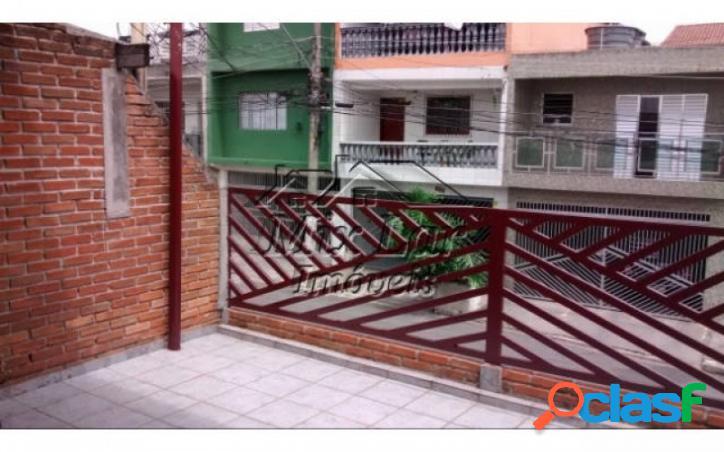 REF 162919 - Casa Sobrado no bairro do Veloso - Osasco - SP