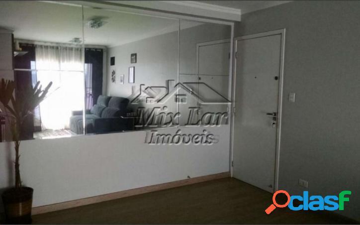 REF 166255 Apartamento no Bairro Jaguaribe- Osasco SP