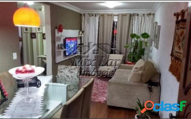 REF 166229 Apartamento no Bairro do Jardim Veloso - Osasco SP