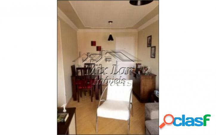 REF 166582 Apartamento no Bairro do Jardim Veloso - Osasco SP