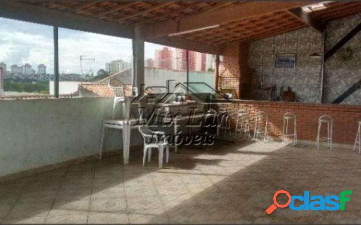 Ref 166666 casa sobrado no bairro conjunto metalúrgico - osasco - sp