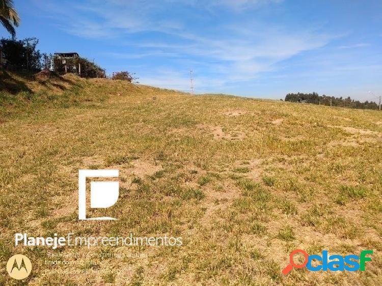 Oportunidade terreno em itupeva condomínio fechado colinas de inhandjara