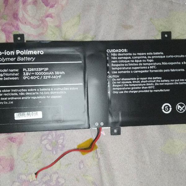 Bateria do notebook positivo motion q232a