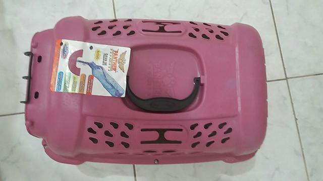 Caixa pra transporte de gatos