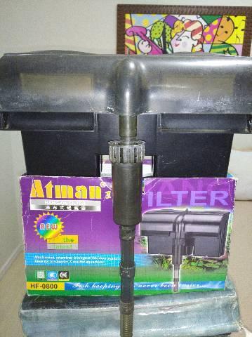 Filtro aquário 180l