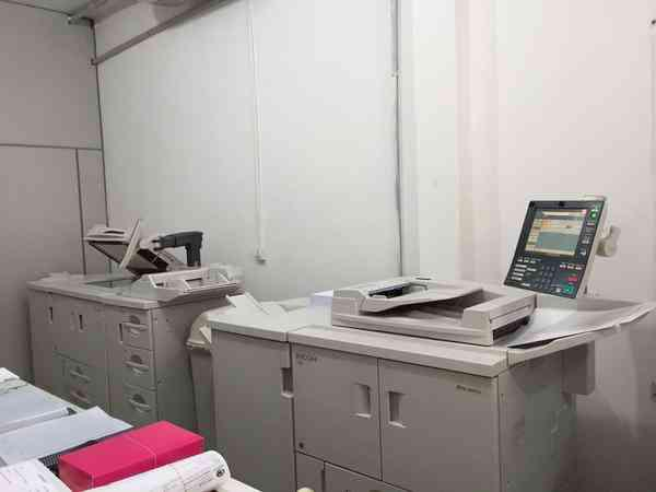 Gráfica rápida e copiadora digital