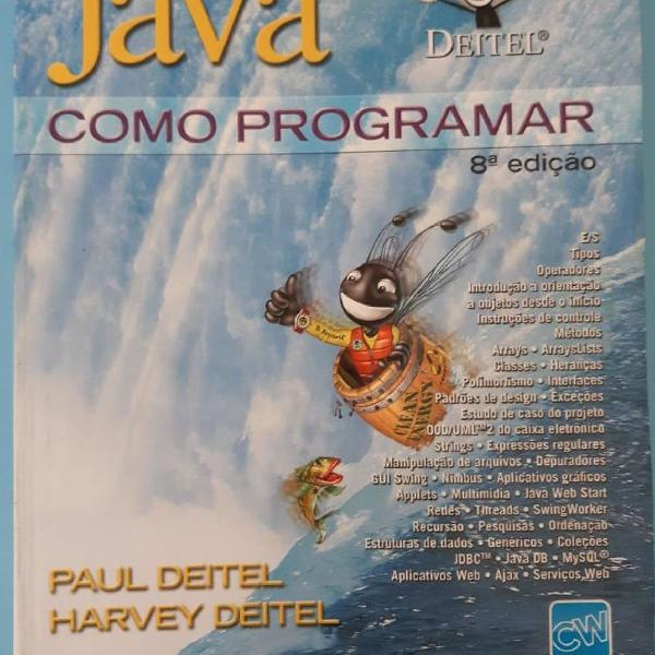 Livro java como programar 8 ed. deitel