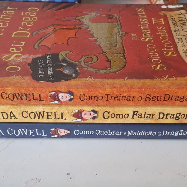 """Livros: """"como falar dragonês"""", """"como quebrar o feitiço"""" e"""