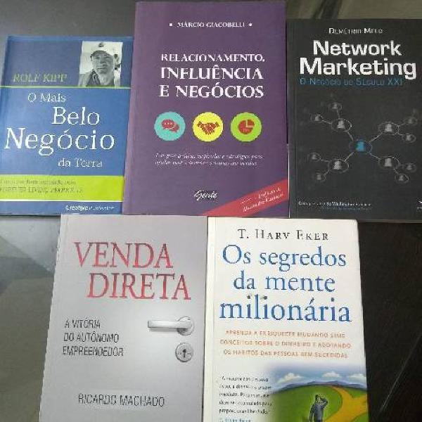 Livros de mmn marketing multi nível
