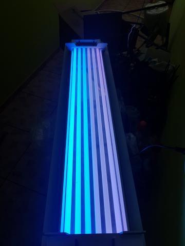 Luminária hopar t5 54w 120cm