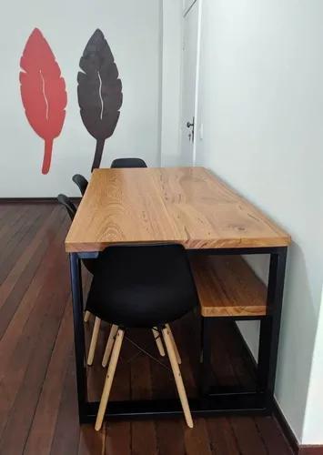 Mesa madeira, pés